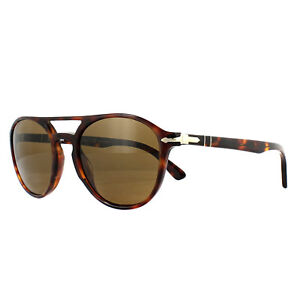 b2d379657c4 Persol Sunglasses 3170S 901557 Havana Brown Polarized 8053672763805 ...