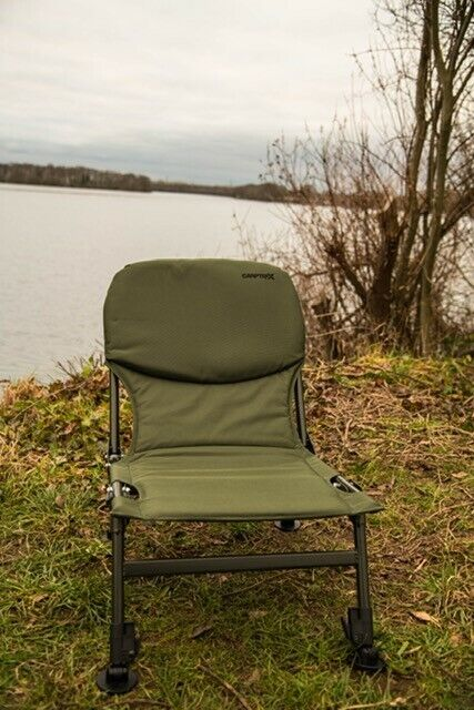 Camping Fishing Chair, Compact, Lightweight, Folding, Adjustable Legs FREE P&P