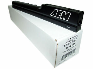 AEM 99-00 Honda Civic Si Black Fuel Rail 25-103BK
