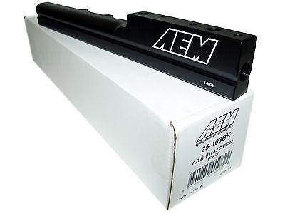 AEM High Volume Fuel Rail Honda Civic Del Sol B16A2 1.6L DOHC 25-103BK