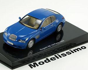 1-43-Auto-Art-Bugatti-EB118-Paris-Motorshow-1998-blue