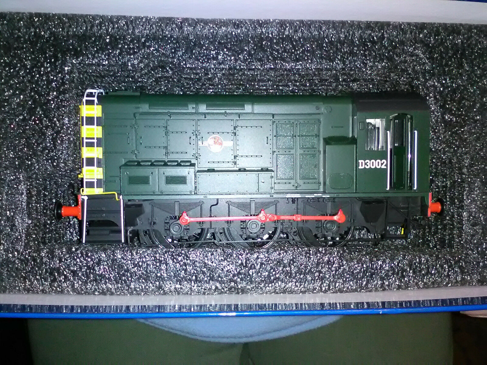 Dapol 7D-008-009 BR verde classe 08 diesel shunter locomotive locomotive locomotive D3002 O gauge BNIB 744700