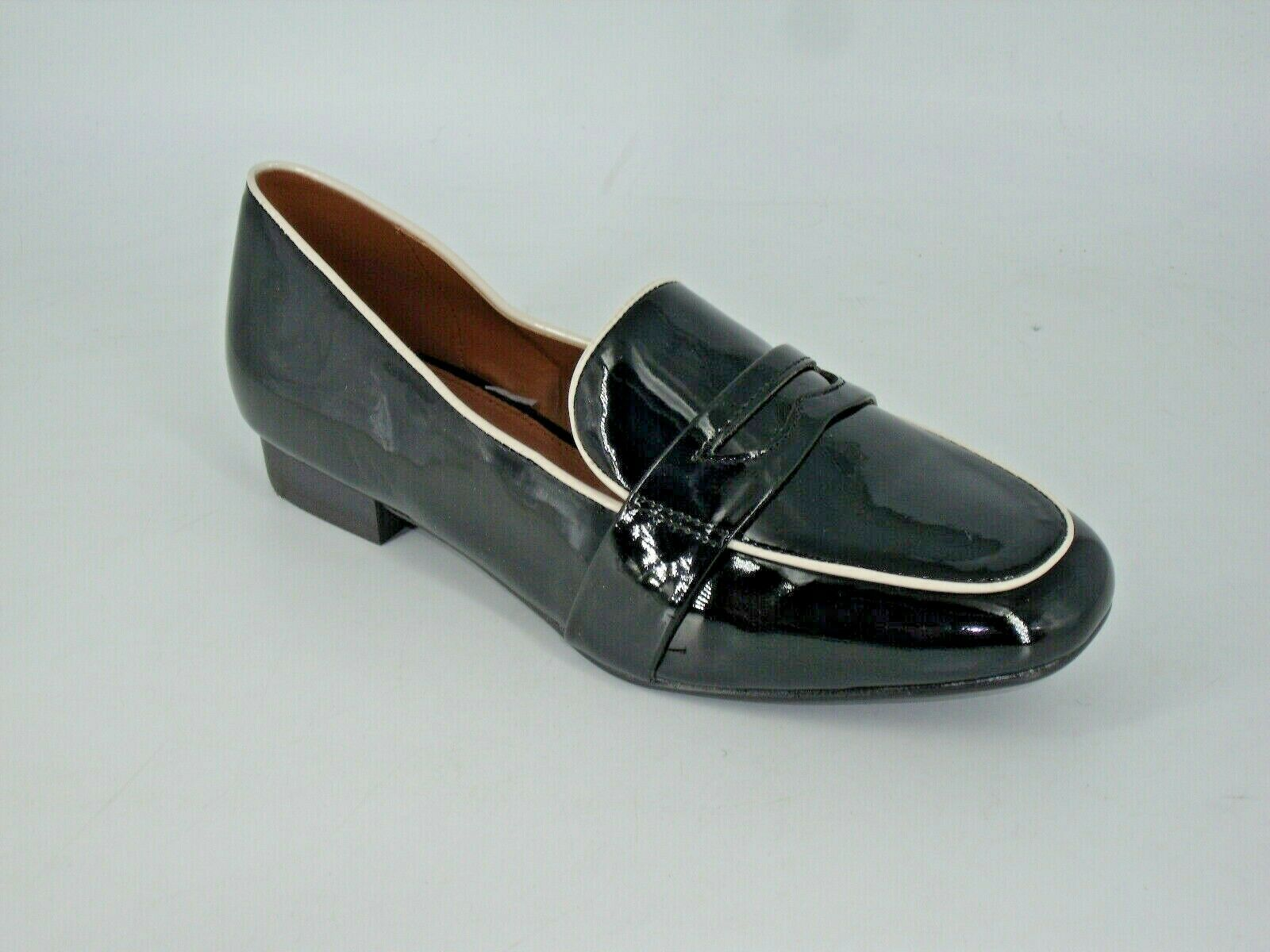 NEXT Patent Loafer's Black Size UK 5 EU 38 NH094 EE 02