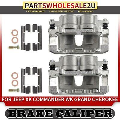 For Jeep Commander 2005-2010 Front Brake Calipers Pair