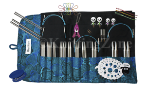 "HiyaHiya 5/"" Sharp Deluxe Limited Edition Interchangeable Knitting Needle Set"