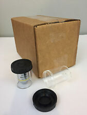 (22) Microscope Objective Lens Cases, M25 thread, Lieca Nikon