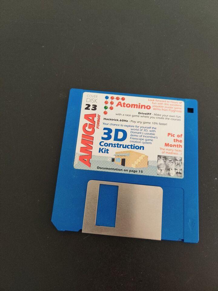 Amiga format, Amiga