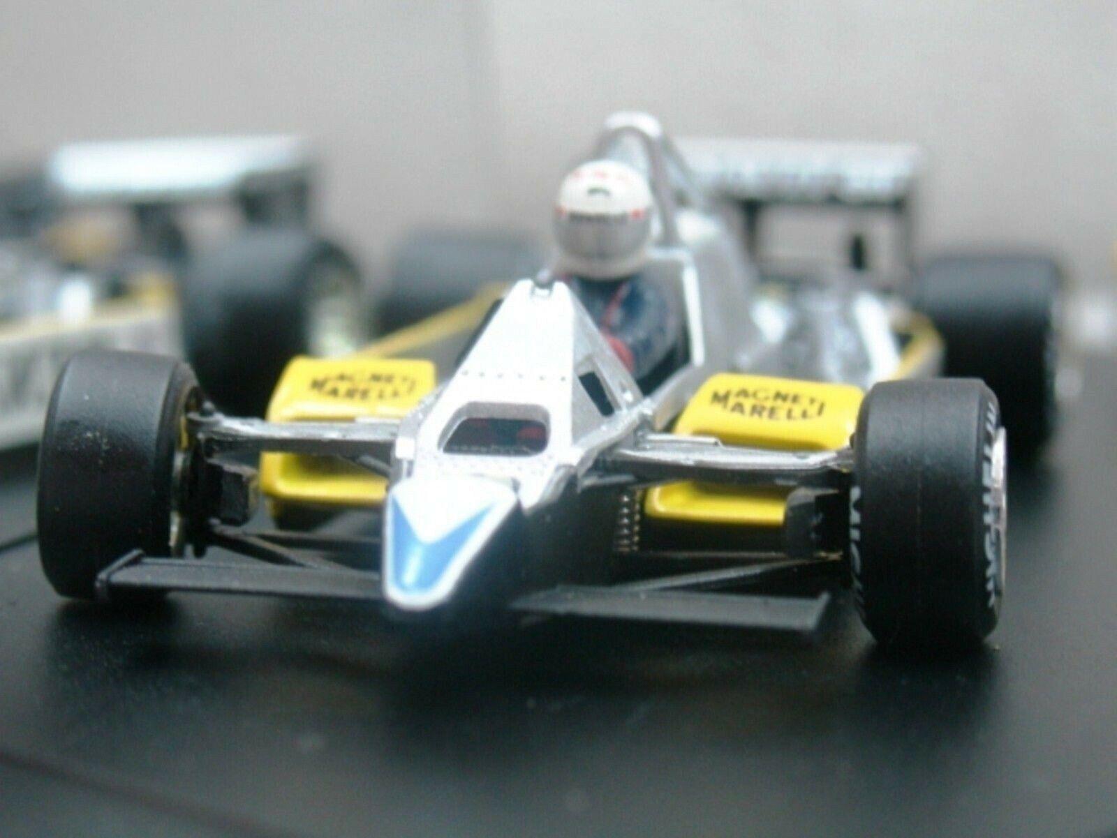 WOW EXTREMELY RARE Renault 1982 RE30B TB Arnoux France 1 43 Quartzo-Spark