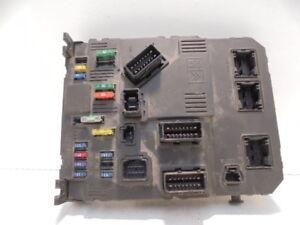 peugeot 206 hatch fuse box 2001 11124 image is loading peugeot 206 hatch fuse box 2001 11124