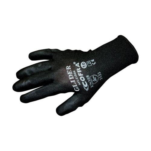 6 12 24 Pairs Cofra PUG PU Coated Precison Work Builders Mechanics Gloves