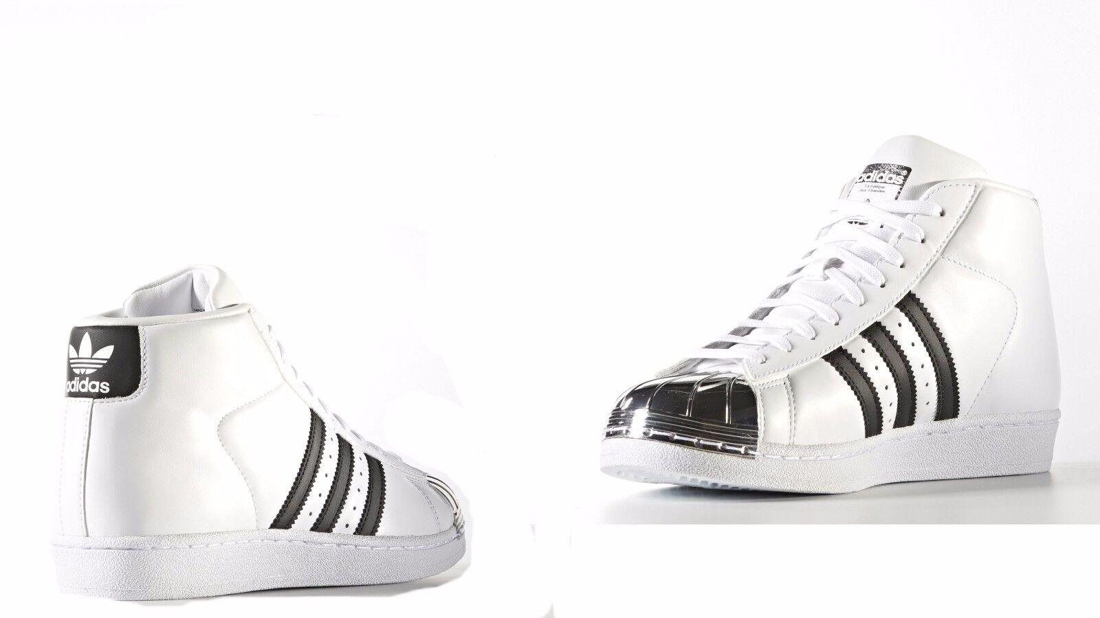WOMEN'S Adidas Originals PRO MODEL White  Core Black BB2131