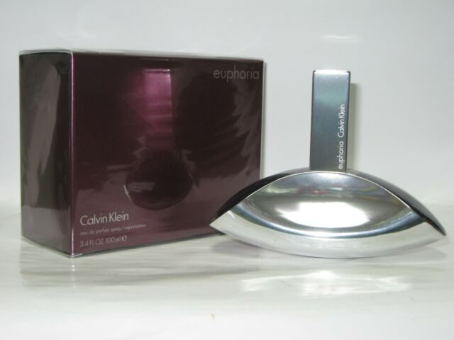 Euphoria By Calvin Klein For Women Edt Spray 34 Oz 100 Ml 0riginal