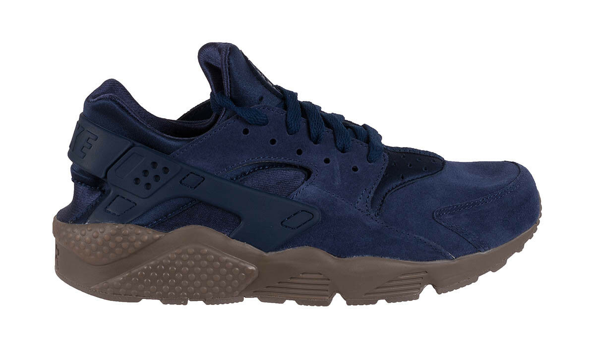 Men's Nike Air Huarache Run SE Athletic Fashion Sneakers 852628 400 Binary bluee