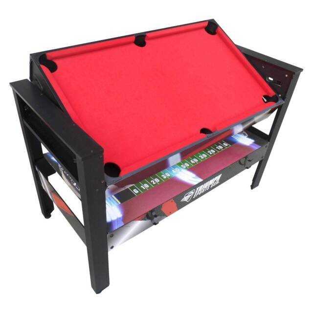 Air Hockey Triumph 4-in-1 Rotating Swivel Multigame Table Billiards Table Te