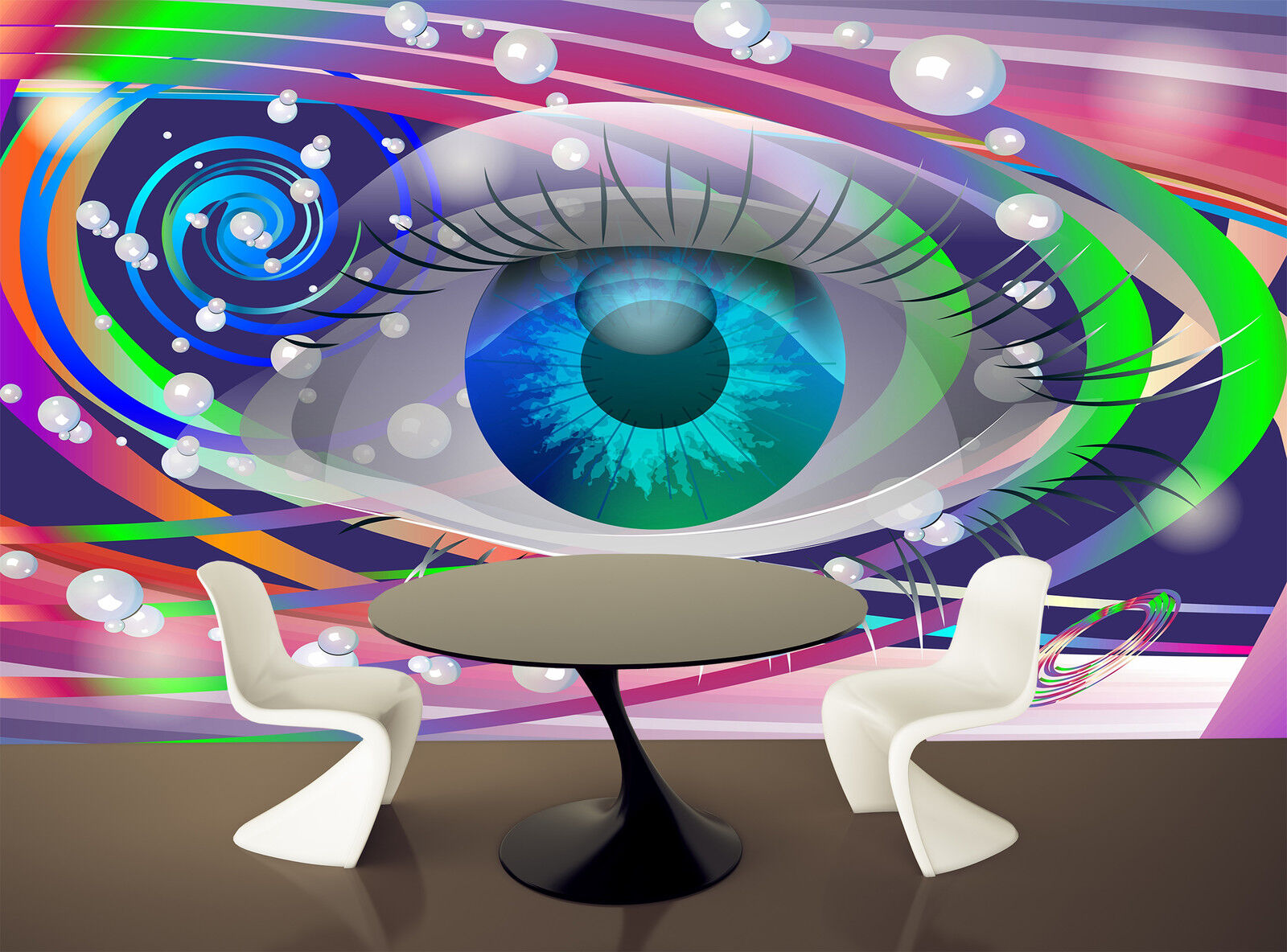 Space Eye Wall Mural Photo Wallpaper GIANT DECOR Paper Paper Paper Poster Free Paste 3d6adc