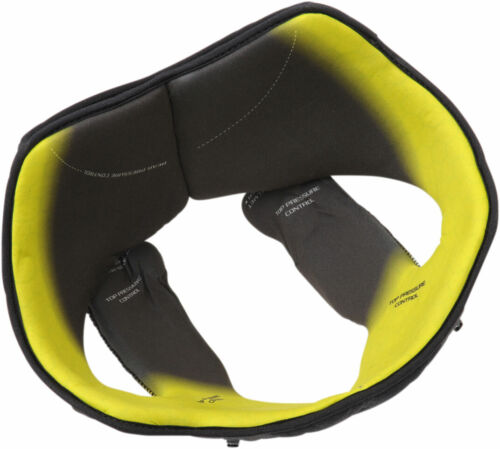 Medium-Large Black//Yellow AGV Replacement Head Liner for Pista GP R Helmets