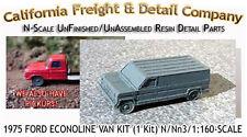 1975 FORD ECONOLINE VAN KIT (1 Kit)  N/Nn3/1:160-Scale California Freight *NEW*