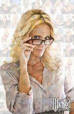 JESSICA DRAKE photo mosaic cm. 30x41 poster with a lot of pics Christmas Gift
