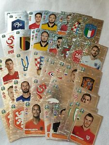 Panini-euro-2020-Preview-stickers-collection-choose-your-best-player-Mint-orange