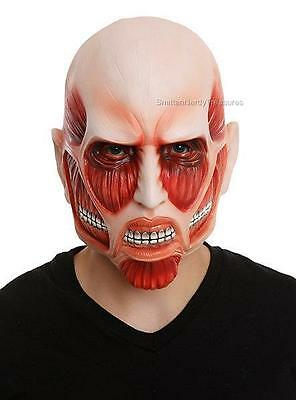 ATTACK ON TITAN Official Licensed DELUXE Colossal TITAN Mask Costume Prop O/S