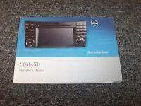2009 Mercedes Benz Sl600 Sl65 Amg Sl-class Comand Navigation System Owner Manual