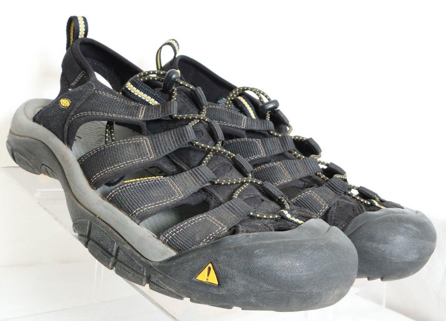 Keen Sarasota Brown Waterproof Bungee Sport Sandals 010116 Women's US 10