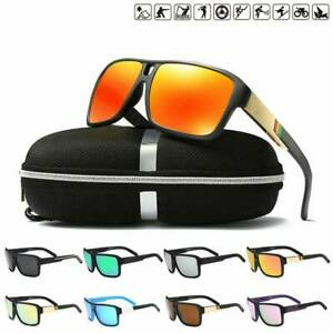 Men-039-s-Sport-Polarized-Driving-Sunglasses-Fishing-Outdoor-Riding-Goggles