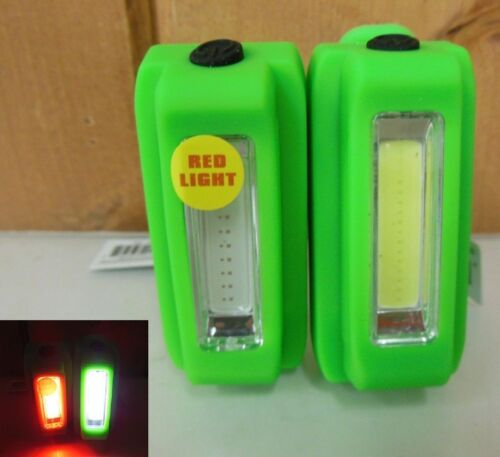 Outdoor Bicycle Light ~ 2 LED Bike Light Set of Headlight and Rear-light ~ New
