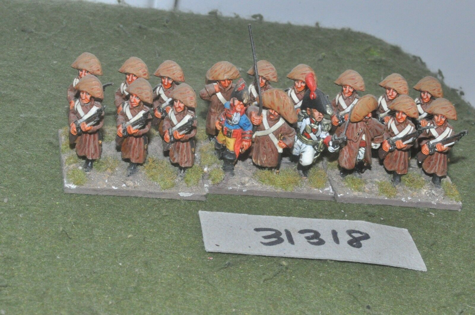 25mm napoleonic   french - line 18 figures - inf (31318)