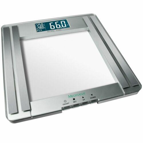 Medisana Bilancia pesapersone analitica digitale LCD per il corpo in vetro PSM