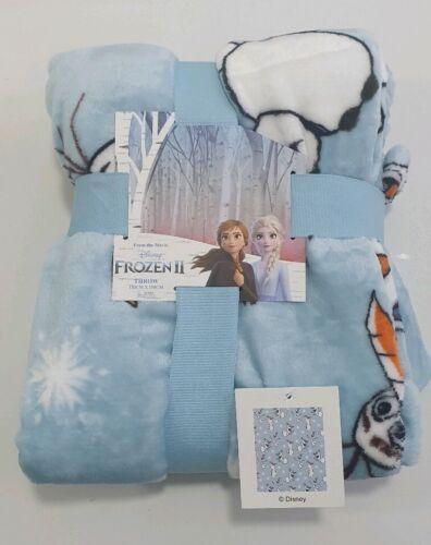 Primark FROZEN II Disney fleece Throw blanket sofa bed Christmas kids adults