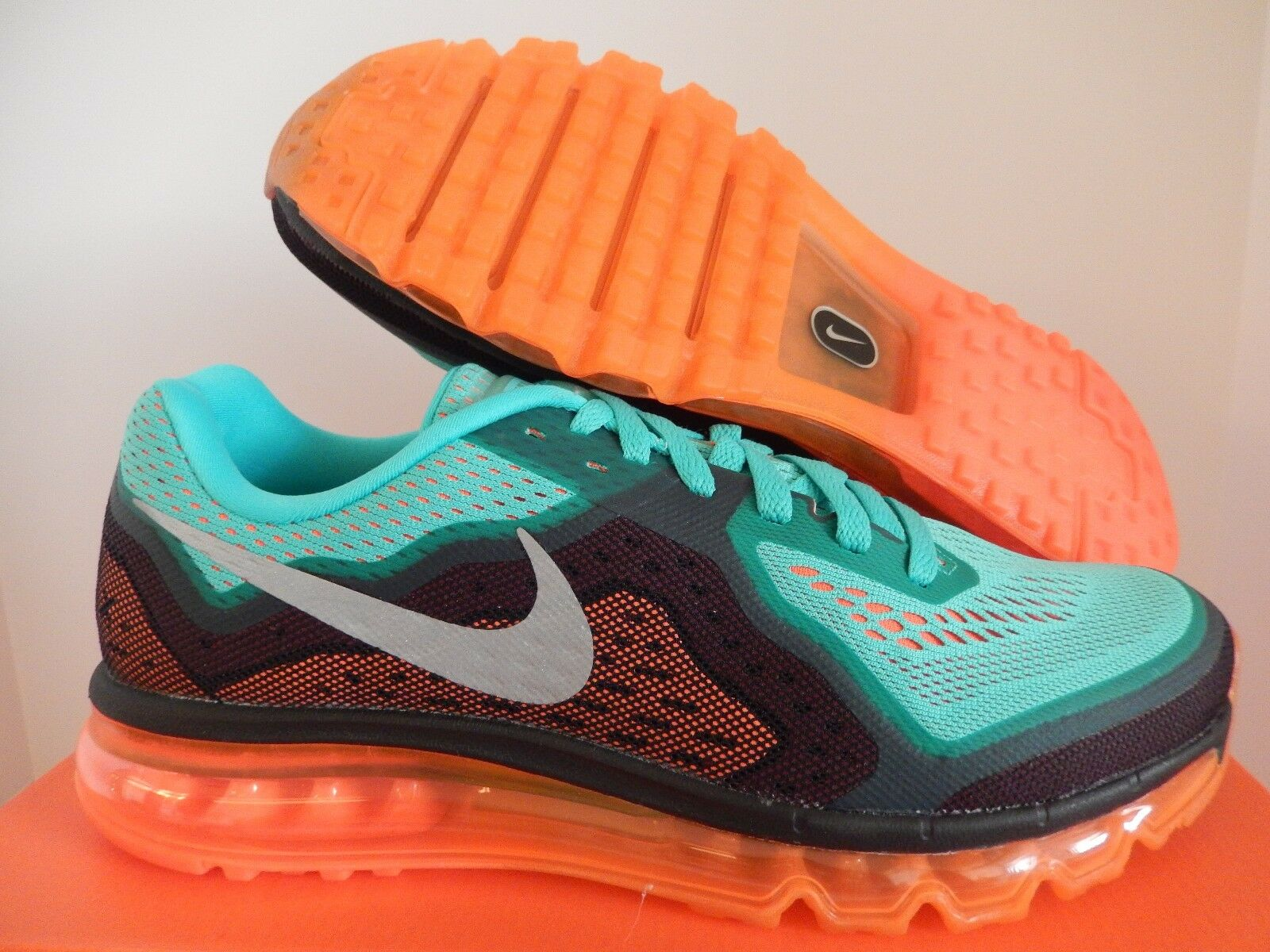 NIKE AIR MAX 2018 HYPER JADE-BLACK-ORANGE-SILVER Price reduction best-selling model of the brand