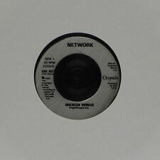 "NETWORK 'BROKEN WINGS' UK 7"" SINGLE"