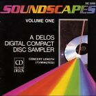 Soundscapes, Vol. 1: A Delos Digital Compact Disc Sampler (CD, Jan-1985, Delos)