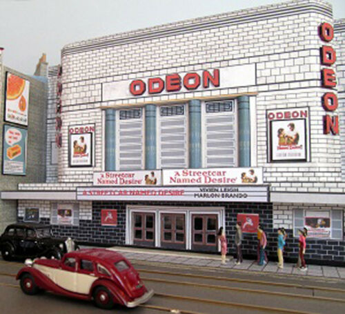 Kingsway Kit build service. 00 scale Whalebone Lane Chadwell Heath Odeon