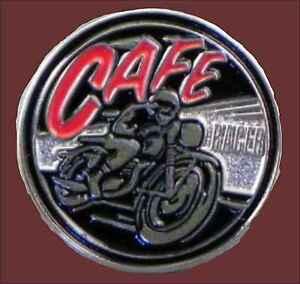 Cafe Racer -  Motorcycle Enamel Pin Badge Transportation