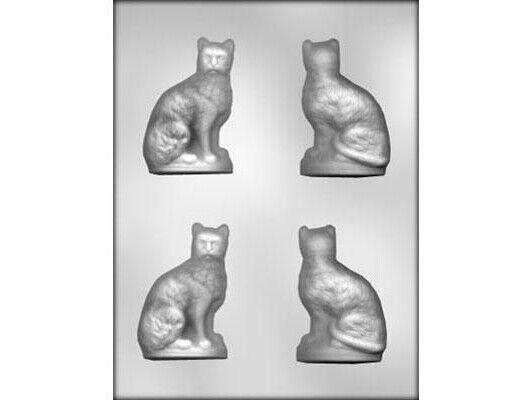 Cat 3D Chocolate Mould