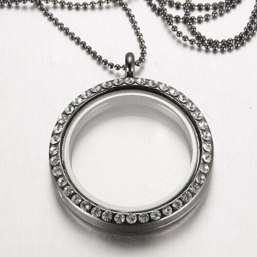 Mémoire vivante flottant famille Charme Médaillon Pendentif Collier Bracelet Porte-clés