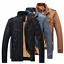 Men-039-s-Genuine-Lambskin-Leather-Jacket-Black-Slim-Fit-Biker-Motorcycle-Jacket-HOT thumbnail 2