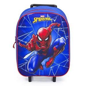 Spiderman-Trolley-Kinderkoffer-39-cm-Neu
