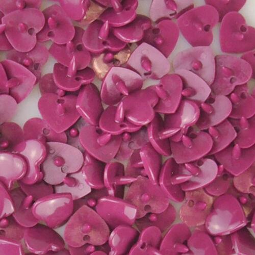 B34 Burgundy Size 20 100 Sets Heart Kam Snaps