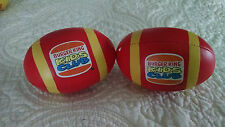 Burger King Kids Club Toy - 1883 Pair of Footballs for Kids under 3 years old
