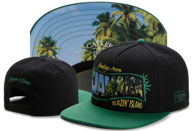 Hip Hop Men/'s CAYLER Sons Cap adjustable Baseball Snapback Street Black hat 594#