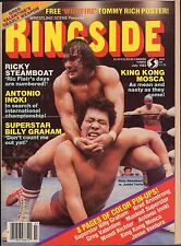 Ringside July 1983 RIcky Steamboat, King Kong Mosca 110916DBE