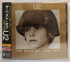 U2 - THE BEST OF 1980-1990 - Japan Limited Edition w/OBI, +1 Bonus Track