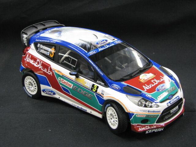 Minichamps Ford Fiesta RS WRC 2011 1 18 Hirvonen   Lethinen Rally Aus. (MCC)