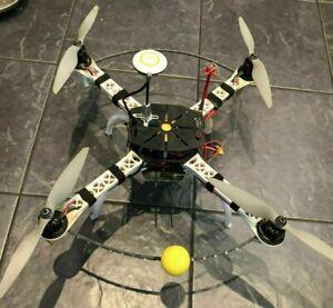 Charitable Sk450 Rc Quadricoptère Dji Naza V2 Gps 30 A Afro Escs Sunnysky Motors Drone Dji F450-afficher Le Titre D'origine Marchandises De Proximité