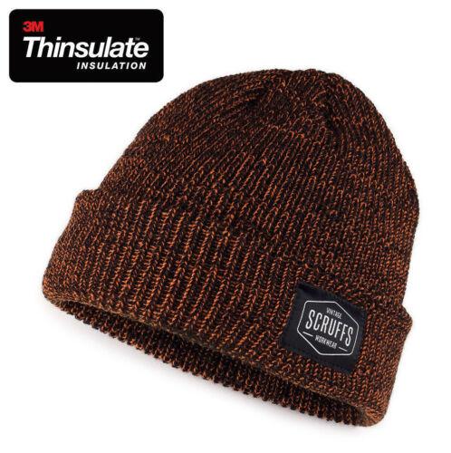 Scruffs Vintage Bonnet Tricot Homme hiver thermiques Thinsulate Doublé