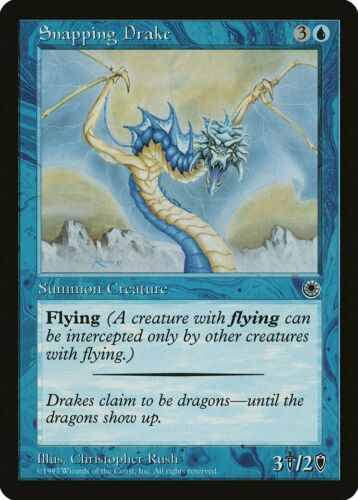 Portal PLD-SP Common CARD ABUGames Snapping Drake B - Includes reminder text