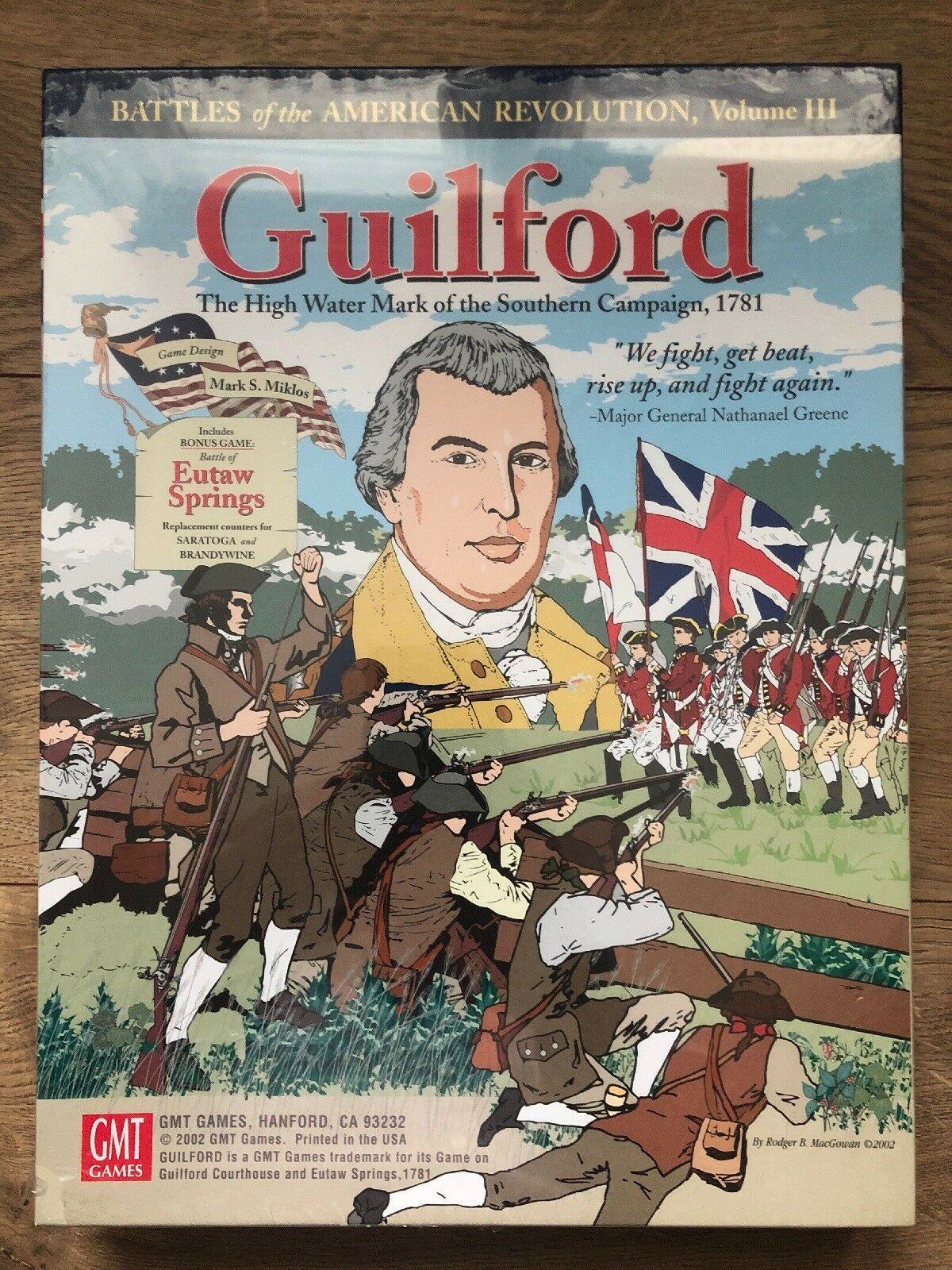 Battles of Guilford Courthouse and Eutaw Springs,1781 by GMT Games